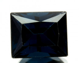 ~PRINCESS CUT~ 0.85 Cts Natural Deep Blue Spinel Tanzania