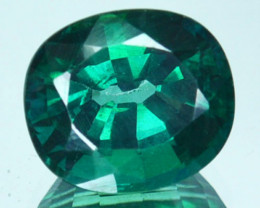2.79 Cts Natural Green Topaz Oval Color Coated Brazil