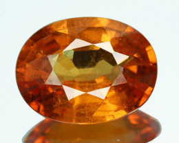 1.51 Cts Natural Mandarin Orange Hessonite Garnet Srilanka