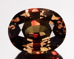 1.24 Cts Natural Color Change Garnet Oval Cut Tanzania
