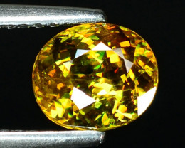 1.78 CT SPEHENE WITH DRAMATIC FIRE GEMSTONE SP14