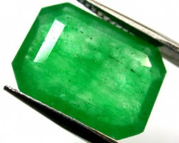 Quartz Emerald Green colour   5.80  carats   QU 223