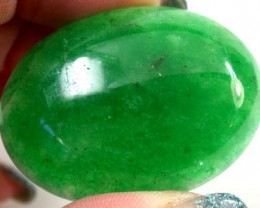 Large Quartz Emerald Green colour   105.5  carats   QU 231