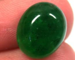 Quartz Emerald Green colour   5.10  carats   QU 234