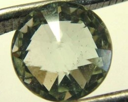 PRASIOLITE NATURAL FACETED STONE 2.85 CTS TBG-2166