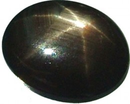 BLACK  6 STAR SAPPHIRE 2.2 CTS  [S4286 ]