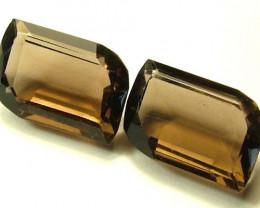 15.50 CTS SMOKY QUARTZ NATURAL STONE  FN 4111 (TBG-GR)