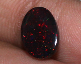 1.50 Crt Natural Ethiopian Welo Fire Smoked Opal Cabochon 1780