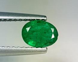"""0.60 ct """" AAA Top Green Gem""""  Stunning Oval Cut  Natural Emerald"""