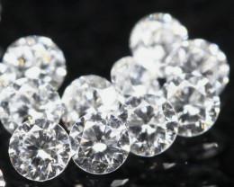 1.20mm D/F/VS 10Pcs Natural Loose White Diamond