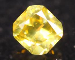 0.18Ct Fancy VS Yellow Natural Diamond S33