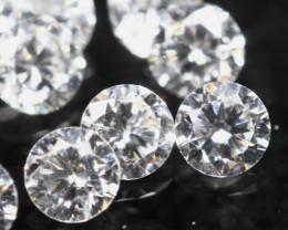 1.50mm D/F/VS 5Pcs Natural Loose White Diamond