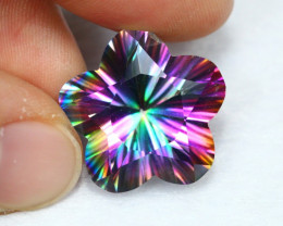 20.12cts Natural Rainbow Peacock Topaz / B60