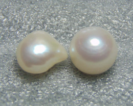 FLAWLESS pieces sea pearl mix shape and sizes 15.95 cts