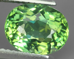 AWESOME 3.57 CTS AMAZING NATURAL RARE LUSTROUS GREEN APATITE NR!!
