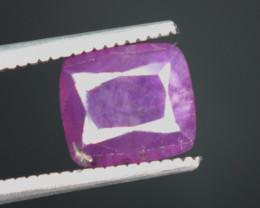 1.50 Carats Untreated Kashmir Corundum Sapphire Gemstone