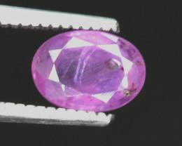 1 Carats Untreated Kashmir Corundum Sapphire Gemstone