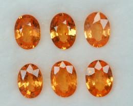 3.39 Cts Natural Spessartite Garnet Fanta Orange Oval Namibia Parcel