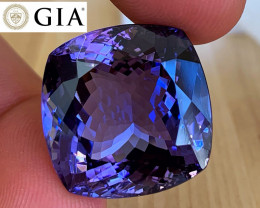 *NR* 41.79 ct GIA Certified Tanzanite - Museum Gem $30,000
