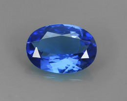 ~EXCELLENT SPARKLING TOP RICH NATURAL  BLUE TANZANITE NR~