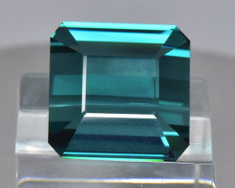 12.09 Cts Stunning Beautiful Color Natural Blue Green Tourmaline