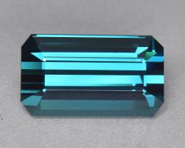 11.01 Cts Amazing Wonderful Color Natural Blue Tourmaline