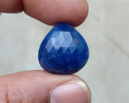 GENUINE BLUE SAPPHIRE ROSE CUT GEMSTONE NATURAL+UNTREATED VA3722
