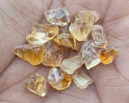Natural Citrine Rough Gemstone Parcel VA3727