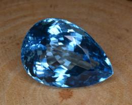 Natural Blue Topaz 40.56 Cts Top Clean Gemstone