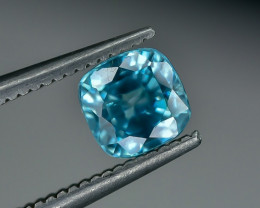 1.25 Crt Natural Zircon Faceted Gemstone.( AG 19)