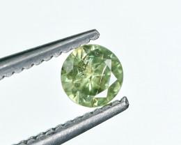 0.26 Crt Demantoid Garnet Faceted Gemstone.( AG 19)