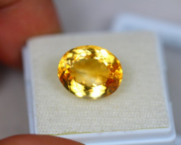 7.18Ct Yellow Citrine Oval Cut Lot LZ2083