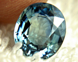 CERTIFIED - 3.90 Carat Blue African VS Sapphire - Gorgeous
