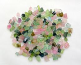 135 Cts Multi Raw Tourmaline Crystals