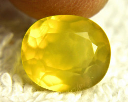4.29 Carat Vibrant Yellow Mexican Fire Opal - Gorgeous