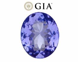 *NR* 3.91 ct GIA Certified Tanzanite - VVS1/Flawless Clarity