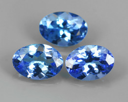2.35 CTS~FINE QUALITY _ LUSTROUS - NATURAL TANZANITE - OVAL _CUT NR!!