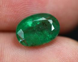2.53cts Natural Green Emerald / TJ49