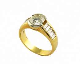 Gr 6.10  18 k Yellow Gold with Diamonds Tot. Cts. 32.429   FB29