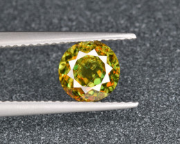 Natural Chrome Sphene 1.53 Cts from Skardu, Pakistan