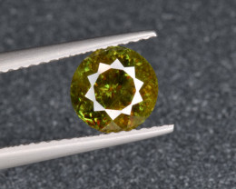 Natural Chrome Sphene 1.93 Cts from Skardu, Pakistan