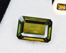 Natural Color Change Chrome Sphene 6.22 Cts from Skardu, Pakistan