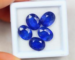 12.13Ct Blue Sapphire Composite Oval Cut Lot B15/24