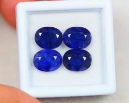 12.14Ct Blue Sapphire Composite Oval Cut Lot B15/25
