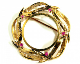 Gr 8.50   18k     Yellow Gold Brooches          FA198
