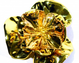 Gr 67.80    18k    Yellow  Gold Brooches          FA150