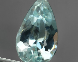 2.05 CTS EXQUISITE NATURAL UNHEATED BLUE  AQUAMARINE PEAR~