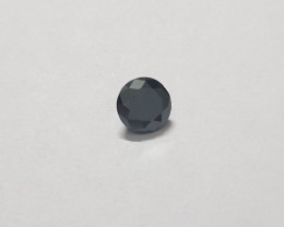 Certified Black diamond clean 0.63 carats 5.6mm round #bdc6