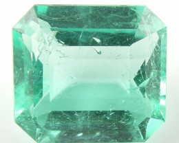 2.01 ct Natural Colombian Emerald Green Gem Loose Gemstone Stone