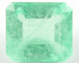 5.16 ct Natural Colombian Emerald Green Gem Loose Gemstone Stone